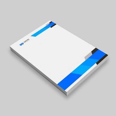 Impression de papier à en-tête