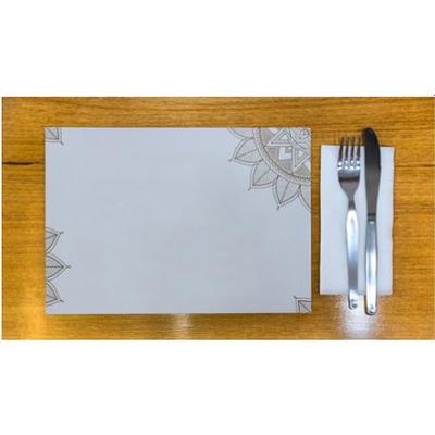 Impression de set de table en papier