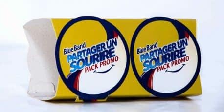 Impression et packaging de produit Blue Band