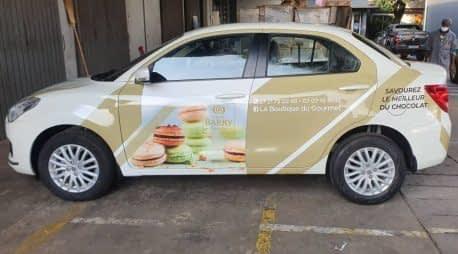 Branding de véhicule en adhésif et covering Barry