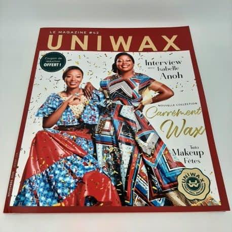 Impression de catalogue dos carré collé UNIWAX