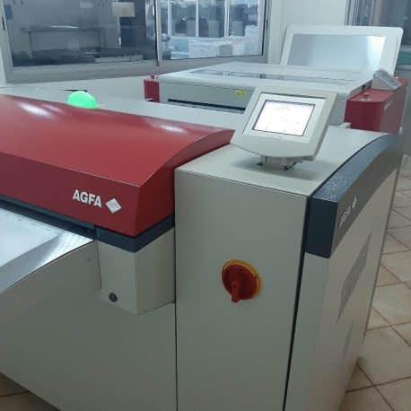 CTP pour la gravure des plaques d'impression offset