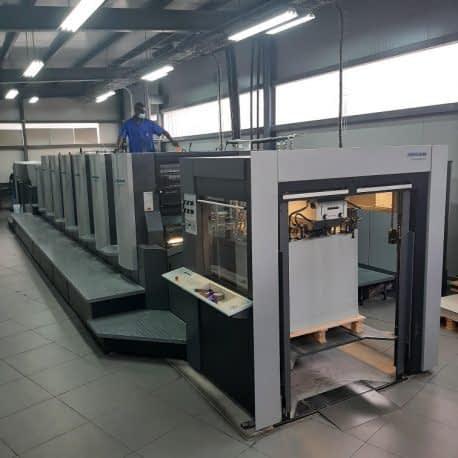 machine impression offset 6 couleurs et vernis