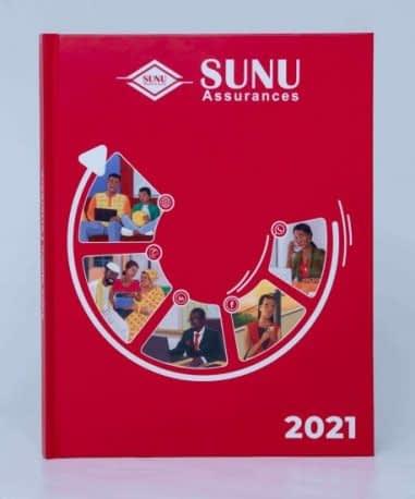 Agenda personnalisé SUNU