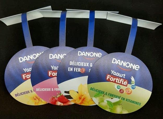 Stop rayon DANONE