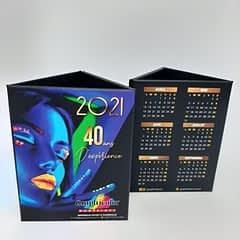 Fabrication de pot à crayon et agenda année 2021