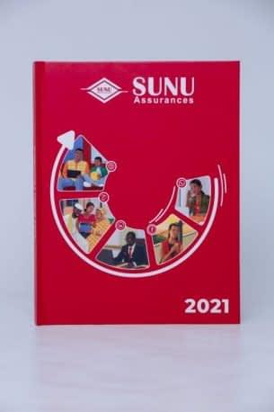 Impression d'agenda personnalisé SUNU