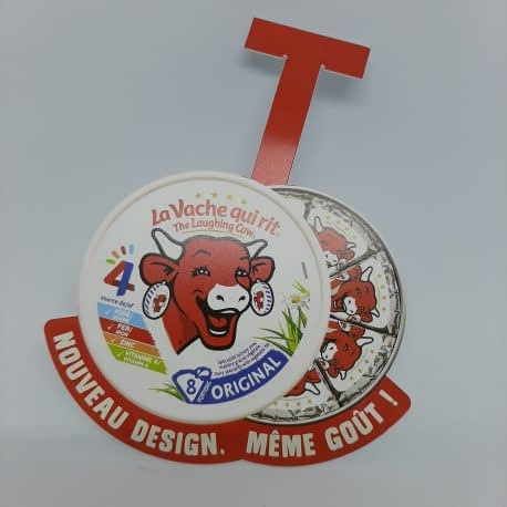 Stop rayon en pvc imprimé La Vache qui rit