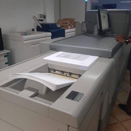 Reprographie numérique de documents